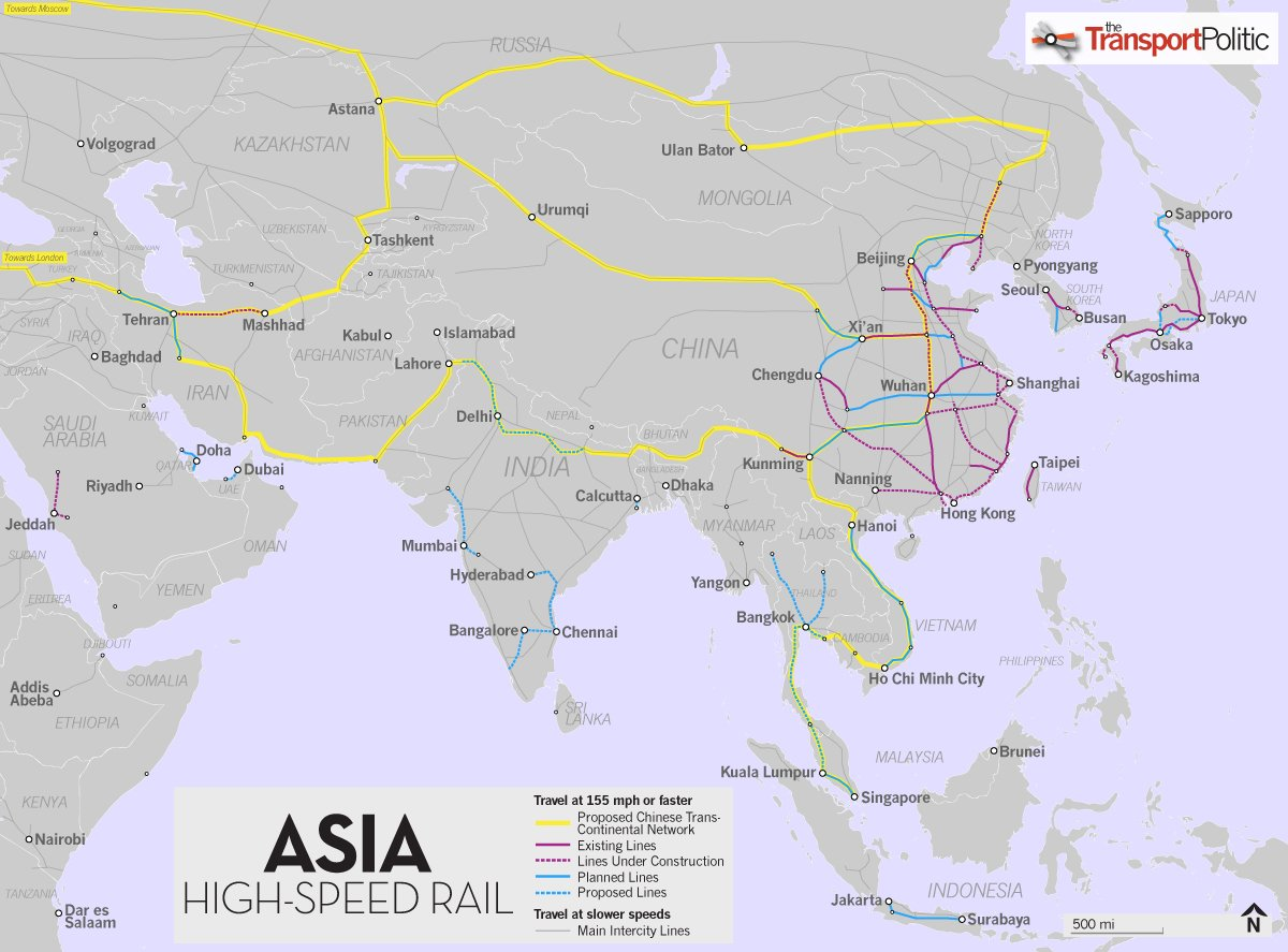 Asia High Speed Rail