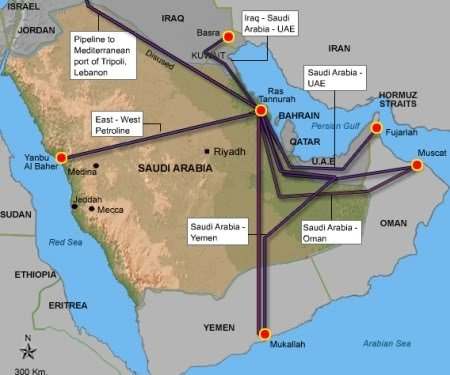 The GeoPolitics Of The Strait Of Hormuz Could The US Navy Be - Map of us troops on iraq and oil piplines