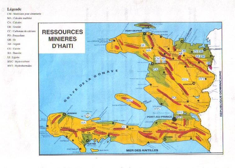 Oil In Haiti Reasons For The US Occupation Global Research - Map of us and haiti