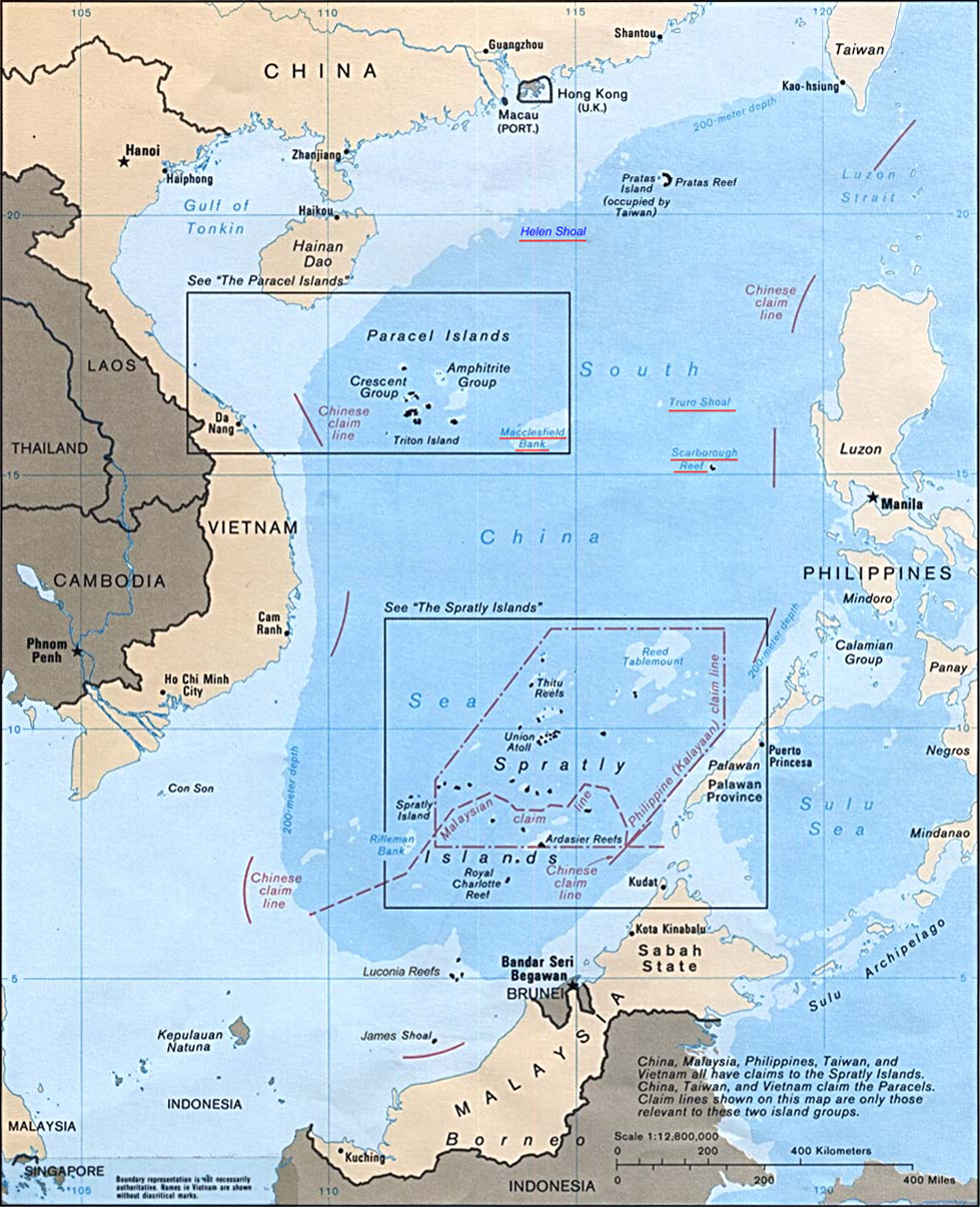 China US Energy Geopolitics: The Battle for Oil in the South China Sea  Southchina sea 88