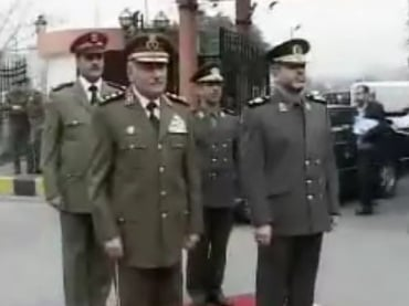 Global research centre for research on globalization syrian and iranian military officials meeting in damascus in 2009 fandeluxe Choice Image