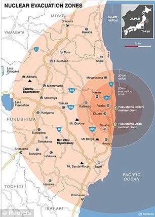 Fukushima A Nuclear War Without A War The Unspoken Crisis Of - Japan map fukushima