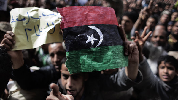 Insurrection and Military Intervention: The US NATO Attempted Coup dEtat in Libya?  libyaflagrev