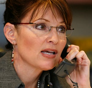 Sarah Palin was taken in by the prank. She was convinced throughout the telephone conversation that she was speaking with French President Nicolas Sarkozy. - sarah_palin_2