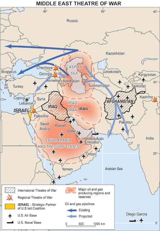 middleastmap The History of the Rise of American Imperialism and March Toward Self Destruction