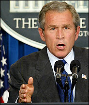 "BUSH'S  ""REAL STATE OF THE UNION ADDRESS"""