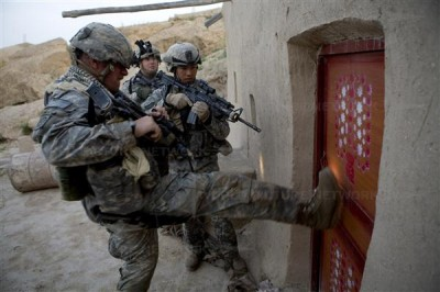 Obama sends marines to suppress population of southern Afghanistan