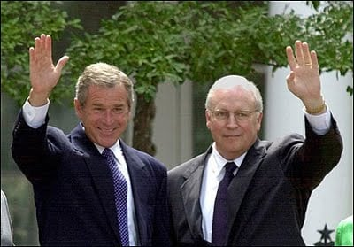 Bush and dick cheney