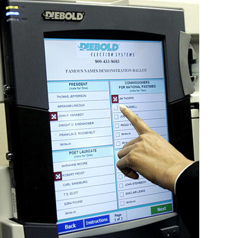 electronic voting fraud
