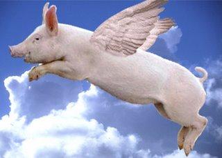 Suite de la saga du cochon volant : L'OMS avoue qu'il n'y a pas de mutation mortelle du H1N1
