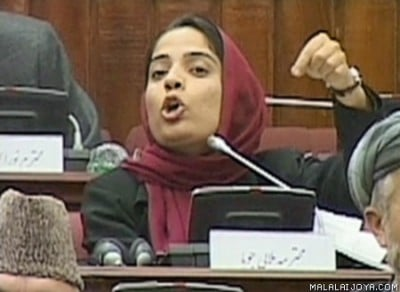 Afghanistan's bravest woman calls on US to leave