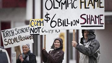 Vancouver Winter Olympics: A Festival of Corporate Greed
