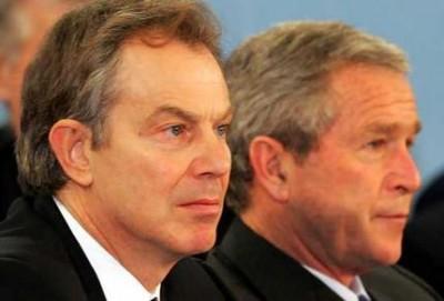 Citizen's Arrest of  War Criminals Tony Blair and George W. Bush