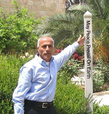 Mordechai Vanunu's Nobel Stand