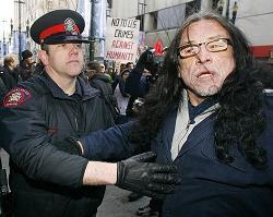 Citizen's Arrest of Alleged War Criminal George W. Bush in Canada