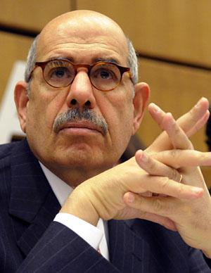 Mohamed ElBaradei Hits Out at West's Support for Repressive Regimes