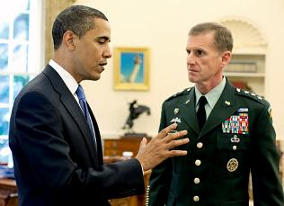 Is Petraeus McChrystal's Replacement or Obama's