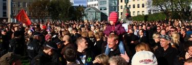 The Protest Movement. Financial Fraud in Iceland