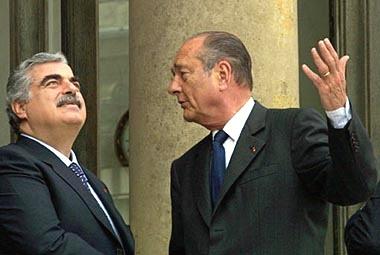 Jacques Chirac – Rafic Hariri : L'implosion du couple vedette de la politique moyen orientale de la décennie 1990