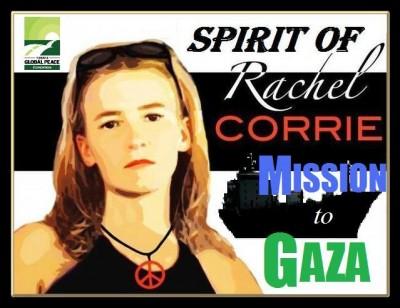 SPIRIT OF RACHEL CORRIE BLOCKED BY EGYPT:  Leader of Gaza aid mission goes on hunger strike