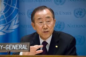 Ban Ki-Moon réclame l'empêchement d'une flottille illégale pour Gaza