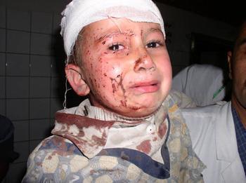 VIDÉO : Sarkozy, combien d'enfants as-tu tués cette nuit ?
