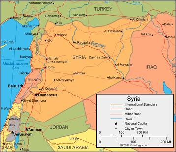 """Ein """"humanitärer"""" Krieg gegen Syrien?"""