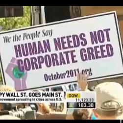 VIDEO: Journalistic Standards Collapse over Occupy Wall Street