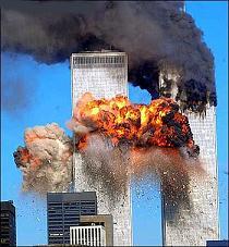 VIDÉO: 11-Septembre - Explosion de la tour nord