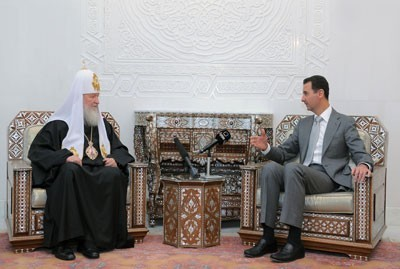 Patriarch Kirill of the Russian Orthodox Church: Russians will continue supporting Syria