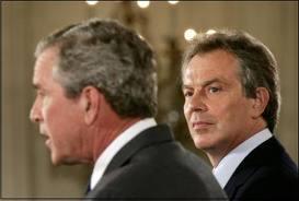 Bush et Blair coupables de crimes de guerre