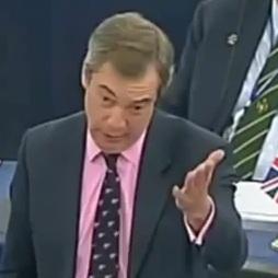 """VIDEO: Nigel Farage eurokratima: """"Sve vas treba najuriti s posla!"""""""