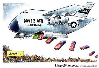 Le scandale de la morgue de Dover et les soldats jetables de l'Amérique