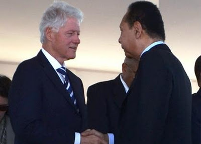 "HAITI'S ""DEMOCRATIC DICTATORSHIP"": Bill Clinton is comfortable shaking hands with ""Baby Doc""  Duvalier - Why?"