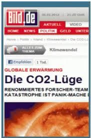 """Gifle au mouvement réchauffiste allemand ! Des médias majeurs se lâchent sur les """"mensonges à propos du CO2 !"""""""