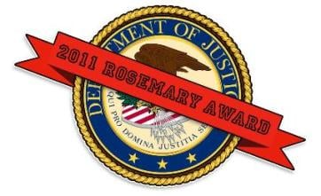 Justice Department Wins Rosemary Award for Worst Open Government Performance in 2011