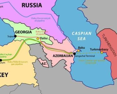 EU Pushes Trans-Caspian Pipeline Versus Russia, Iran