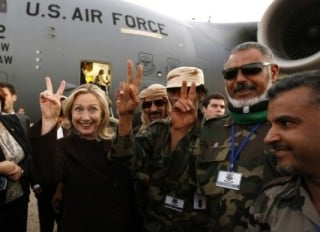 Hillary Clinton and Middle East War Crimes