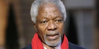 CRISE EN SYRIE : Kofi Annan, peau noire, masques blancs