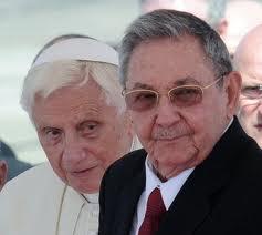 Discours d'adieu de Raul Castro au pape Benoit XVI