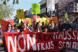 GRÈVE ÉTUDIANTE AU QUÉBEC : Cinquante mille manifestants ça change le monde !