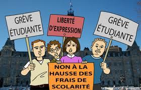 Contre une hausse des frais de scolarité au Québec