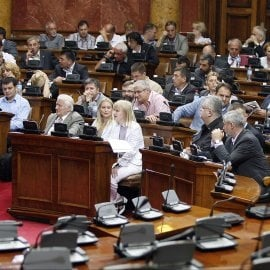 Forty-Six Parties in Serbia Parliament