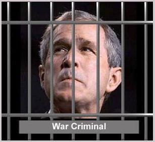 Bush condamné pour crimes de guerre par contumace