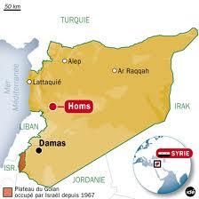 Homs : tout ce qui est raconté par les médias est à l'envers