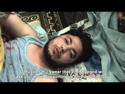 VIDÉO : Le Syrien plusieurs fois tué, blessé et secouriste … présent à la conférence de Hollande !