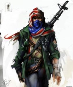 Les « combattants de la liberté » : Fantassins de l'Empire Anglo-saxon