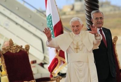 Pape Benoit XVI Liban