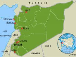 Syrie carte verte