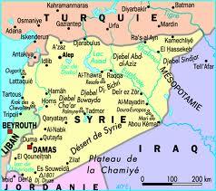 Syrie carte